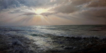 6917 Behind the Clouds 100x200cm