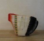 lsm3-10-medium-jug-with-bright-red-lip-and-lustred-black-handle-side-view-dhs-1700-ceramic-32x22-cms