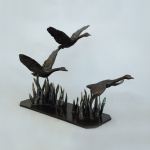 LLB 400-bronze-sculpture-of-swans-flying-study Dhs 18,000.