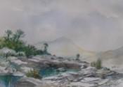 Above Hadif by John R Harris