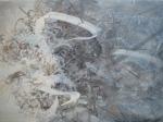my town, 75 x 55 cms, Acrylic on canvas, 2013