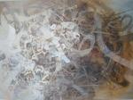 Township 75 x 55 cms, Mixed Media on Canvas, 2013